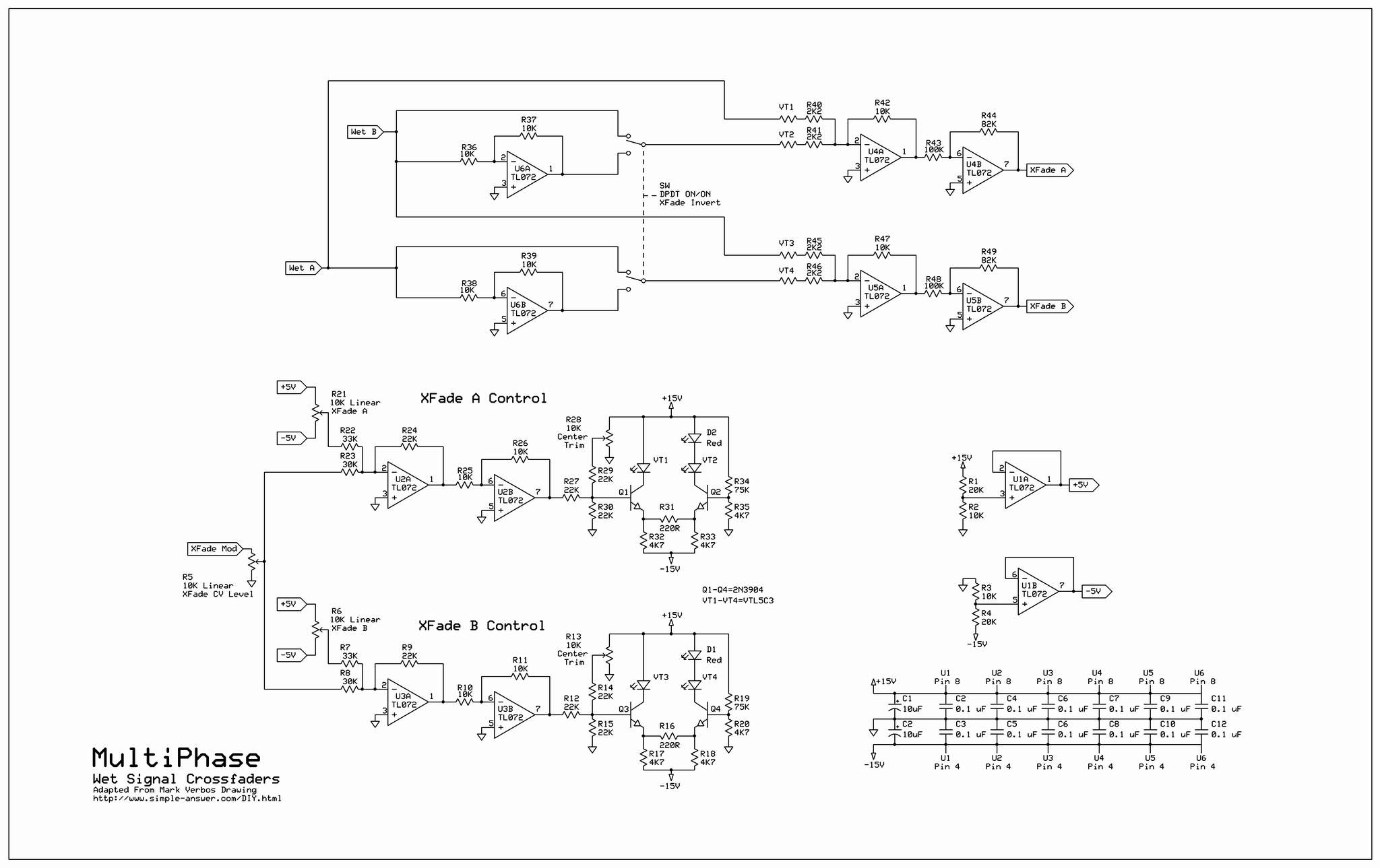 Multiphase Technical Links Signal Converter Circuit Simple Phase Shifter Oscillator Xfade Schematic Link